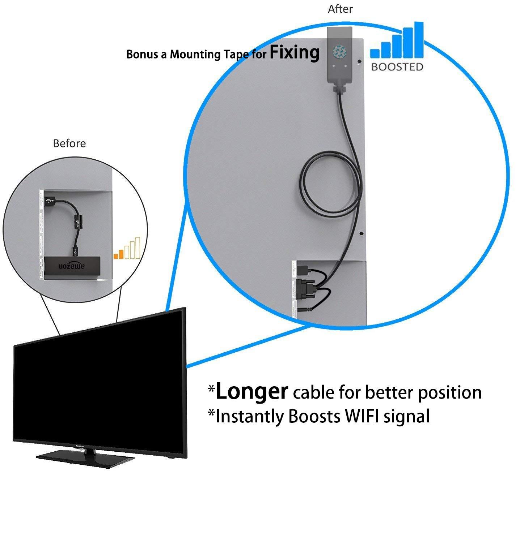... (WiFi Signal Booster), FOINNEX HDMI Female to VGA Male Converter for  Streaming Roku Stick,Google Chromecast,Raspberry Pi,Laptop: Computers &  Accessories