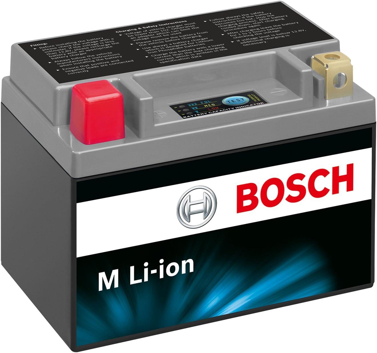 Bosch 0986122608 Motorradbatterie Li Ion Ltx9 Bs 3ah 180a Auto