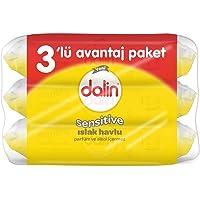 Dalin Sensitive Islak Havlu 3'lü Paket (3 x 1 Adet)