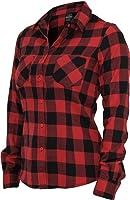 Urban Classics Damen Hemd Ladies Checked Flanell Shirt