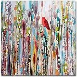 La Vie Comme Un Passage by Sylvie Demers, 24x24-Inch Canvas Wall Art