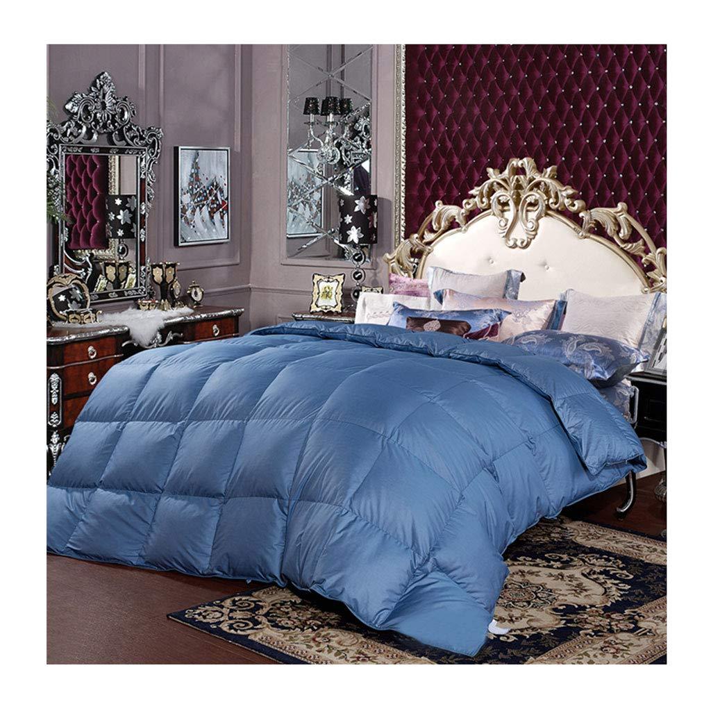 秋と冬の二重厚さ暖かい布団コットンキルトコアベッドルームホステルベッドライニングを保つ サイズ (色 : Red, サイズ さいず : 220×240cm(2.2kg)) さいず 青 B07MQY5DTM 200×230cm(2kg)|青 青 200×230cm(2kg), 吉備町:d72ffa36 --- itxassou.fr