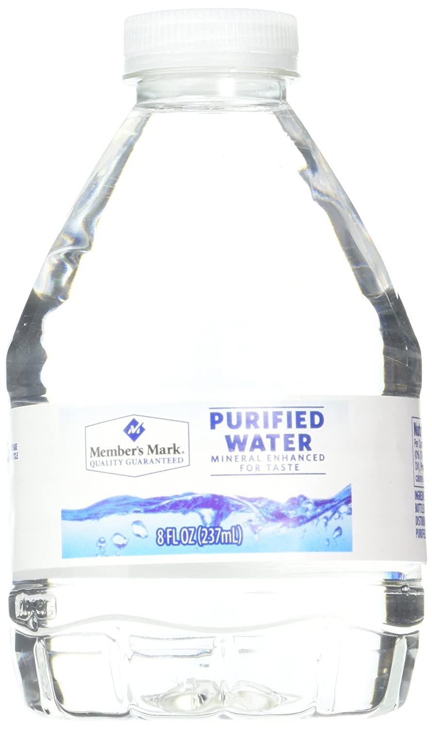 Purifying Drinking Water Members Mark Purified Water 80 Count Amazoncom Grocery