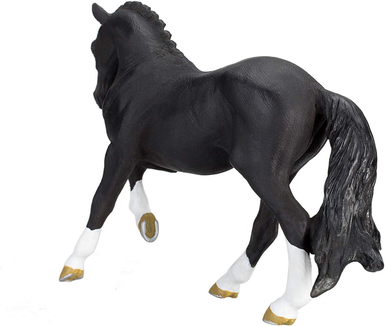 381018 MOJO Hanoverian Foal Bay Realistic Equestrian Horse Club Hand Painted Toy Figurine