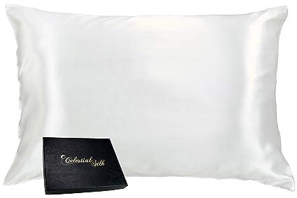 Lot of 2 100/% charmeuse silk beauty pillowcase Black King 20x36 size