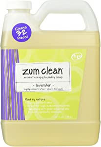 Indigo Wild Zum Clean Laundry Soap, Lavender, 32 Fluid Ounce