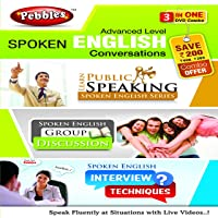 Pebbles Advanced Level Spoken English Conversation - Public Speaking, Group Discussions (DVD)