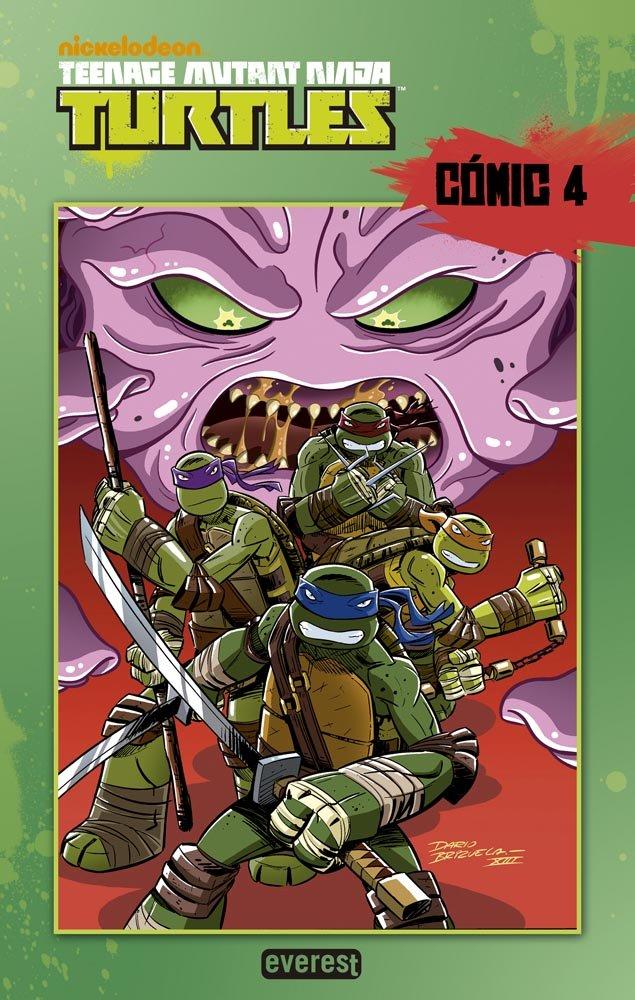 Tortugas Ninja. Cómic 4 (Cómics Ninja): Amazon.es ...