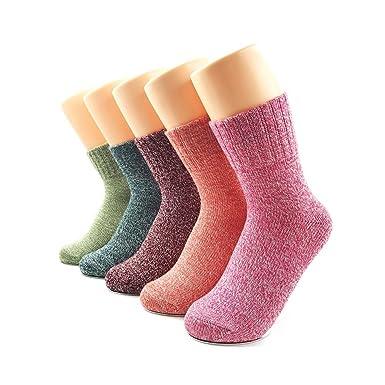 Calcetines de lana de mujer, Casual calcetines,de calcetines de pura lana, lana