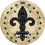 Thirstystone Stoneware Coaster Set, Fleur de Lis II