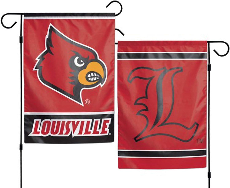 """WinCraft Louisville Cardinals 12""""x18"""" Garden Flag"""