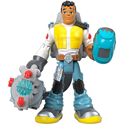 Fisher-Price Rescue Heroes Carlos Kitbash, Multi, (Model: GFW62): Toys & Games [5Bkhe1102223]