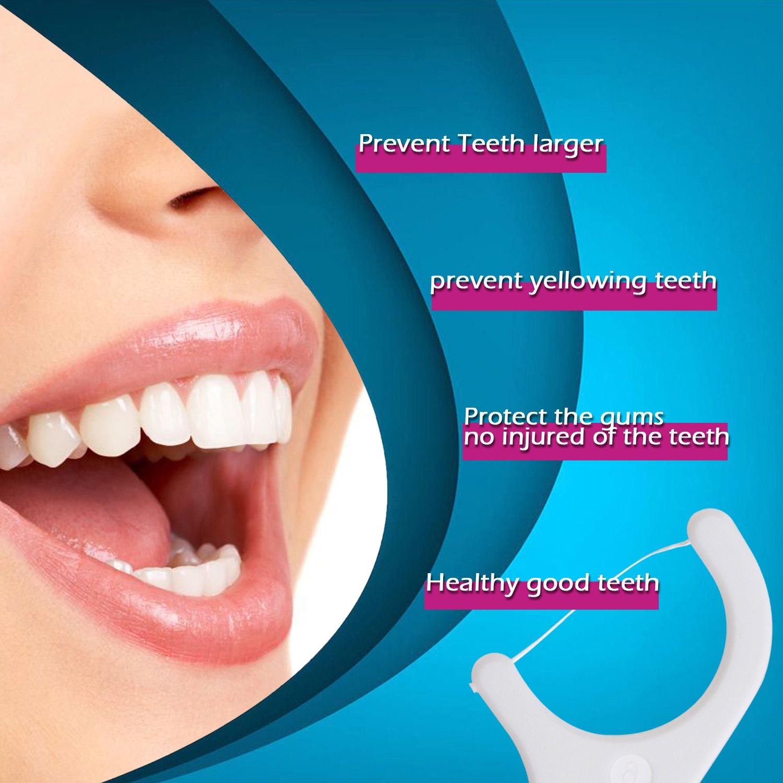d2bb8e265a Amazon.com  FAMILIFE Dental Floss Pick Flosser with mini Travel Cases