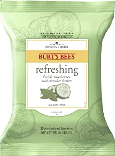 product image for Burt's Bees Sensitive Facial Cleansing Towelettes with Cucumber and Sage - 30 Count