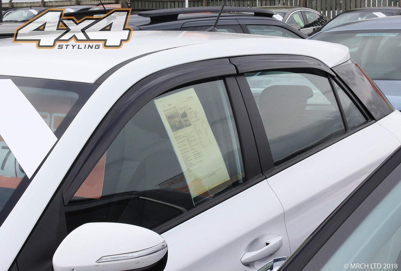4 Piezas Juego de deflectores de Viento para Hyundai i20 2015 Autoclover