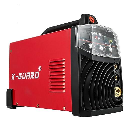 Cueffer Equipo de Soldadura MIG-250/MMA 220A Máquina de Soldadura Soldador Inverter con Electrodo Soldador Eléctrico (Servicio Post-venta): Amazon.es: ...