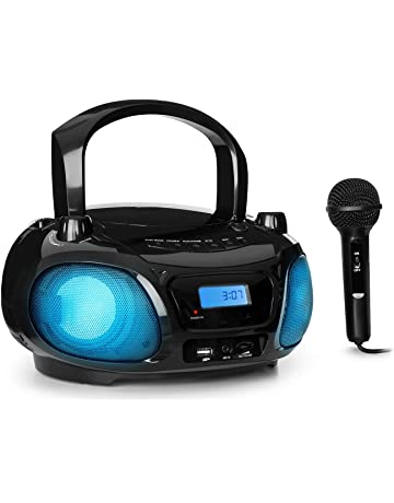 auna Roadie Sing CD • Boombox • Radio con CD • Reproductor de CD • Karaoke