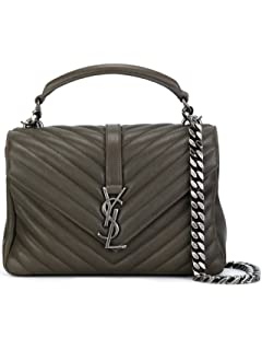 f999a153f Yves Saint Laurent YSL Women's Leather Large Belle de Jour Clutch ...
