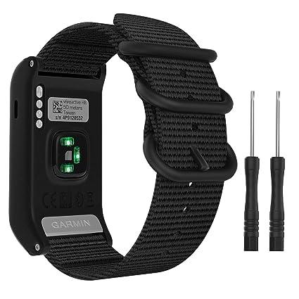 MoKo Compatible con Garmin Vivoactive HR Reloj Correa, Pulsera ...