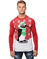 Nouvelle loyauté et foi 3D nouveauté rétro tricoté Noël pull pull Top