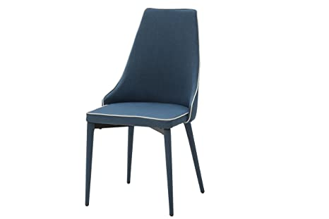 Sedie Blu Cucina : White loft set di sedie metallo blu cm amazon