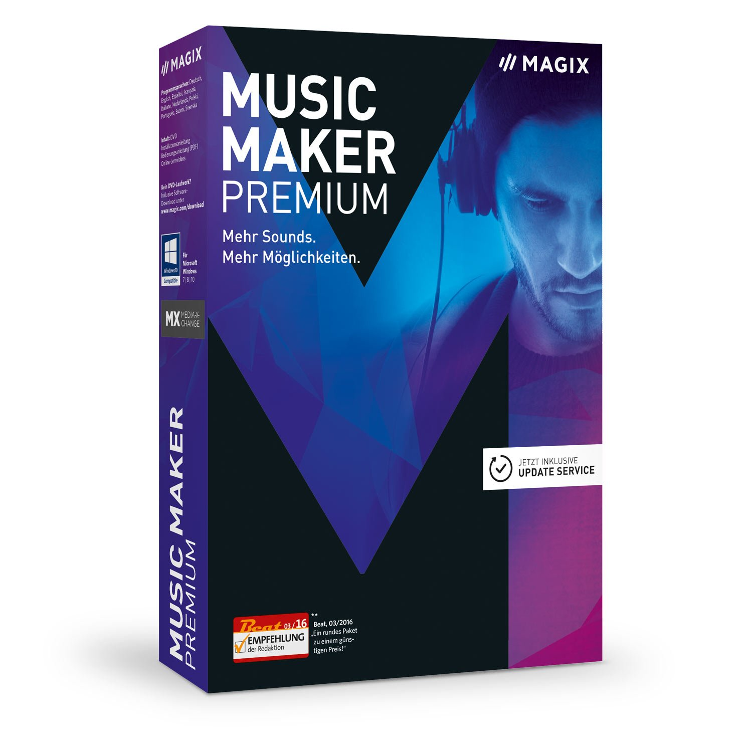 MAGIX Music Maker 2017 Premium Edition