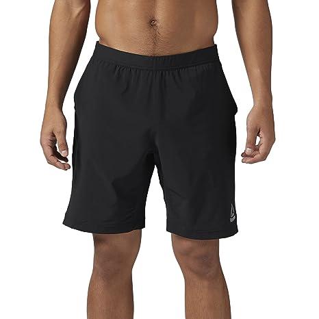 ab955fade3b Amazon.com  Reebok Men s Speedwick Athletic Shorts  Sports   Outdoors