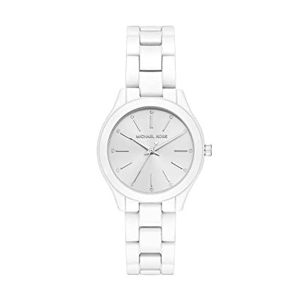 Michael Kors MK3908 Reloj para Mujer, color Blanco: Amazon