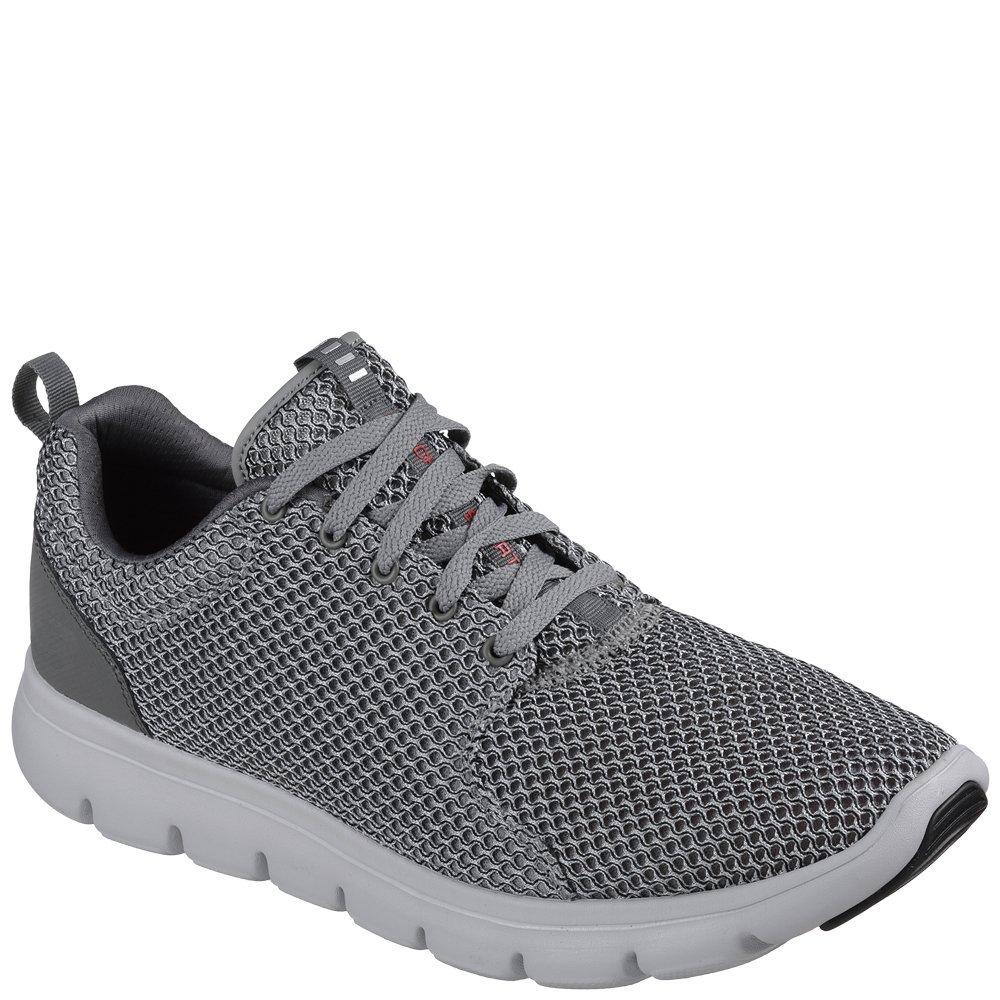 Skechers Marauder, grau-Weiß Herren Technischer Schuh (grau-Weiß NVY)