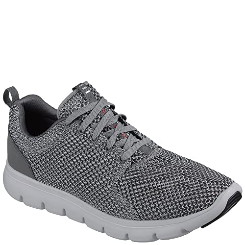 Skechers 52832 Char Sneaker Man Grey 42: Amazon.co.uk: Shoes ...