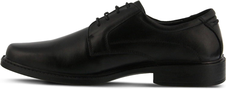 Color Black Mens Spring Step Men MATT Mens Oxford Mens Leather Lace-up Oxford