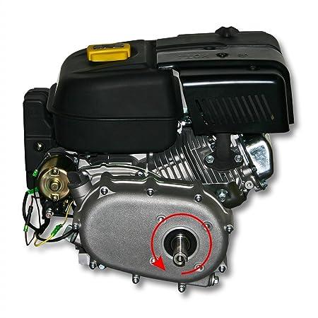 Motor de gasolina LIFAN 188 9, 5kW (13hp) con embrague en baño de aceite y E-Start: Amazon.es: Jardín