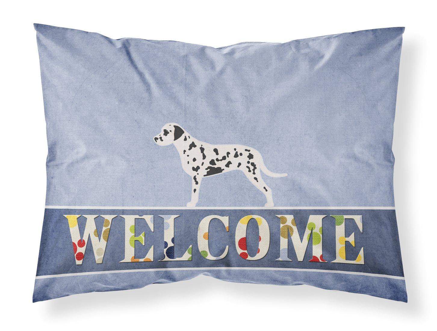 Standard, Carolines Treasures Neapolitan Mastiff Welcome Pillowcase