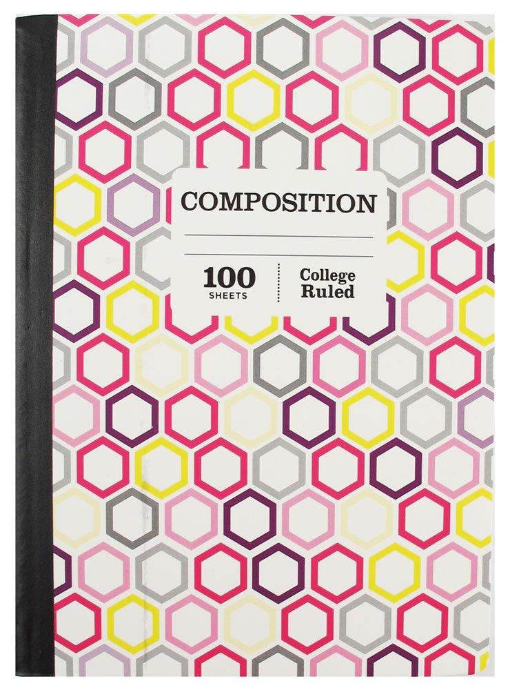 1 Subject College Ruled Composition 100 Page Notebook Sustainable Forestry Pack of 5 by Pen (Image #3)