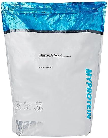 MyProtein Impact Whey Isolate Proteína de Suero, Sabor Vainilla Natural - 5000 gr