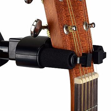 Amazon.com: Colgador de guitarra guitarra soporte de gancho ...
