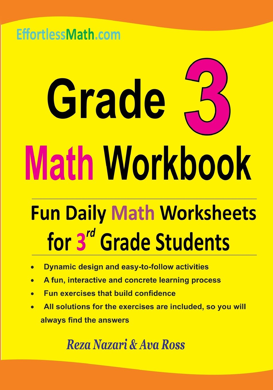 - Grade 3 Math Workbook: Fun Daily Math Worksheets For 3rd Grade