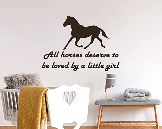 A Horse Is Your Best Friend Horses Wall Stickers Equestrian Quotes Decor Decals
