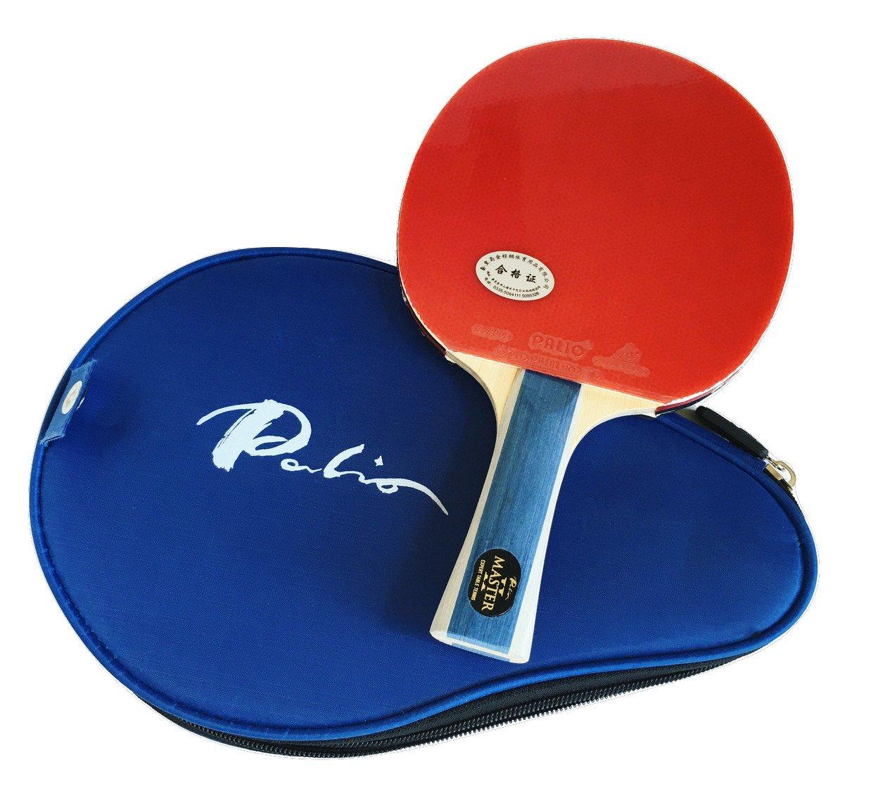 Palio Master 2 Table Tennis Racket & Case