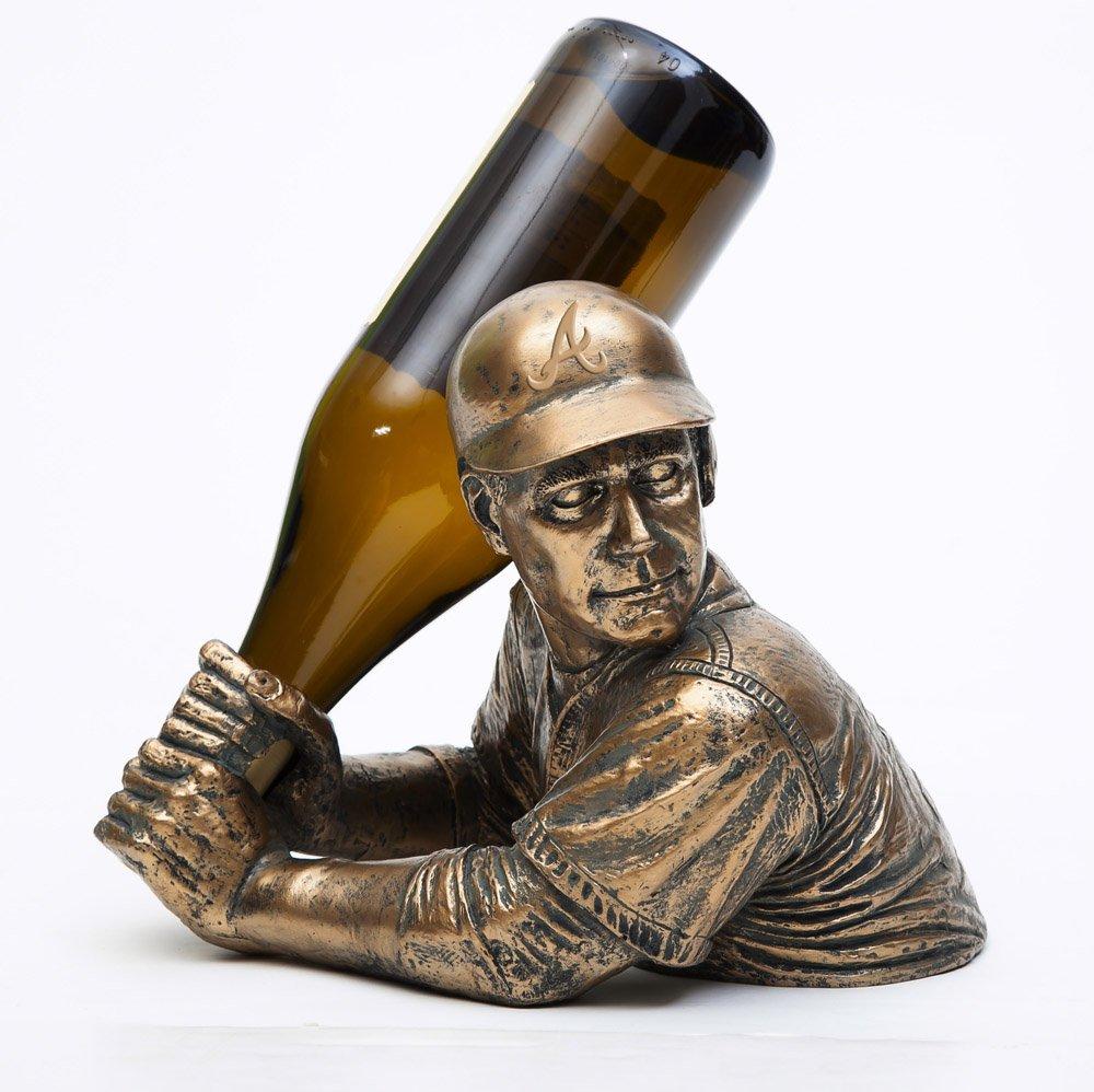 Atlanta Braves Bam Vino Baseball Player Wine Bottle Holder