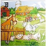 Servietten -Bauernhof- 20Stück