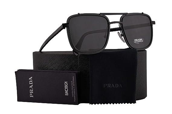 Amazon.com: Prada PR59US - Gafas de sol con lente 1AB5S0 ...