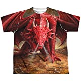 Anne Stokes - Youth T-Shirt Dragon's Lair (Two Sided)