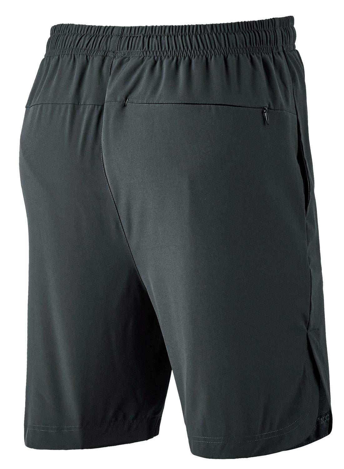 TBMPOY Mens 7 Quick Dry Active Running Workout Shorts with Mesh Liner Zip Pockets