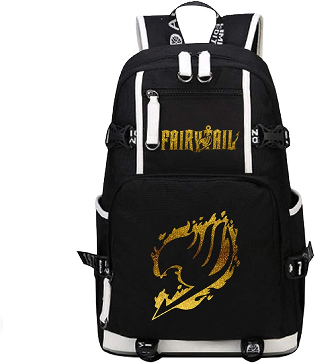 YOYOSHome Luminous Anime Fairy Tail Cosplay Daypack Bookbag Laptop Bag Backpack School Bag (3)