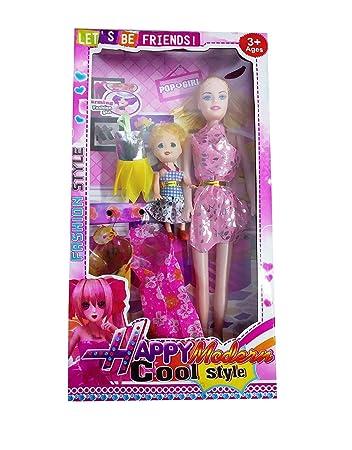 Virat Fashion Barbie Doll House Set (Happy Modern)