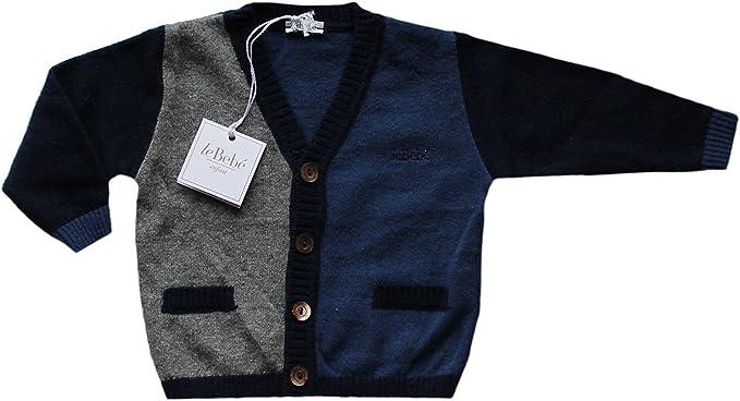 abbastanza LE BEBE' Maglioncino Cardigan Baby Enfant Neonato Bambino Blu RE09