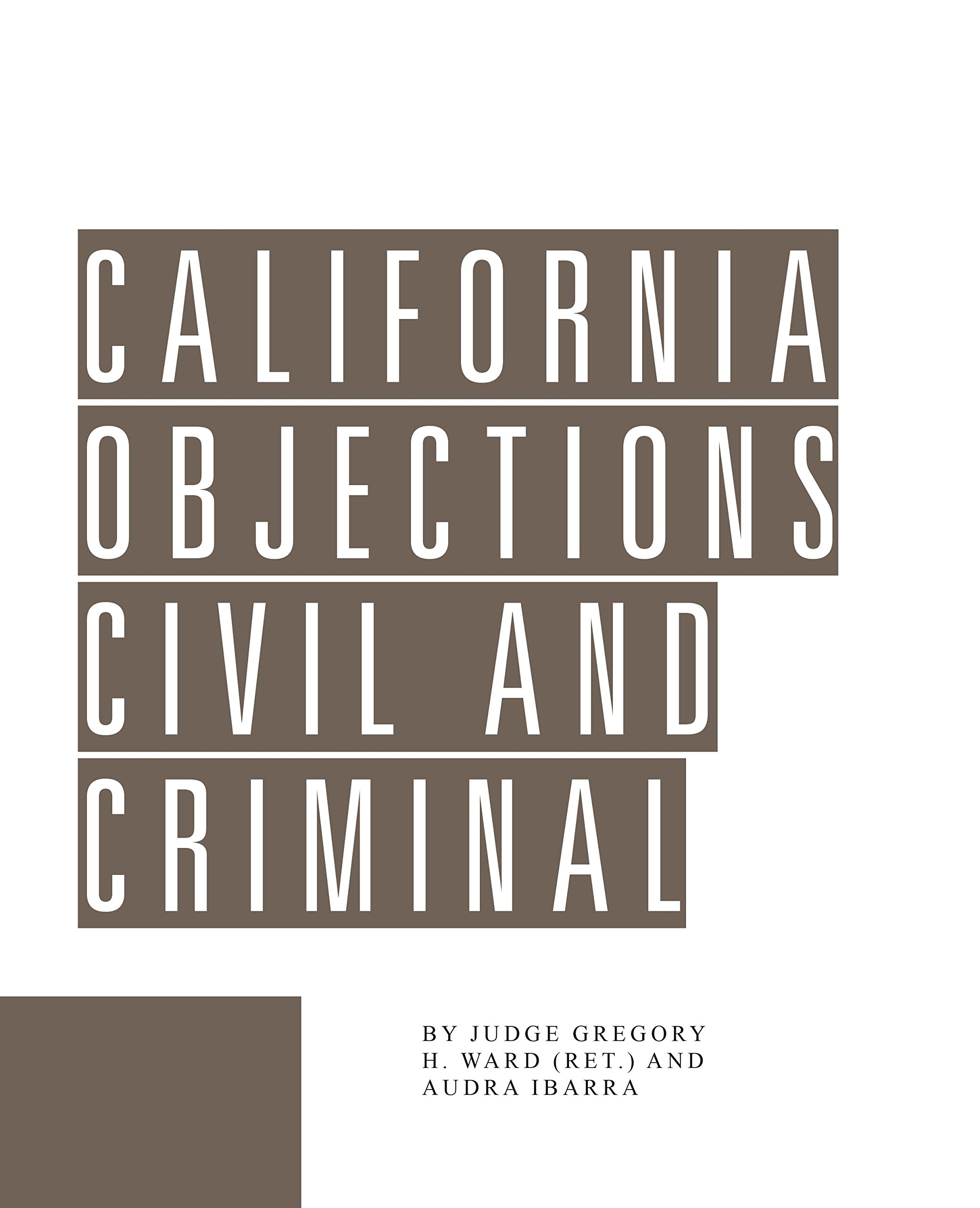 California Objections (Revision 13) pdf epub