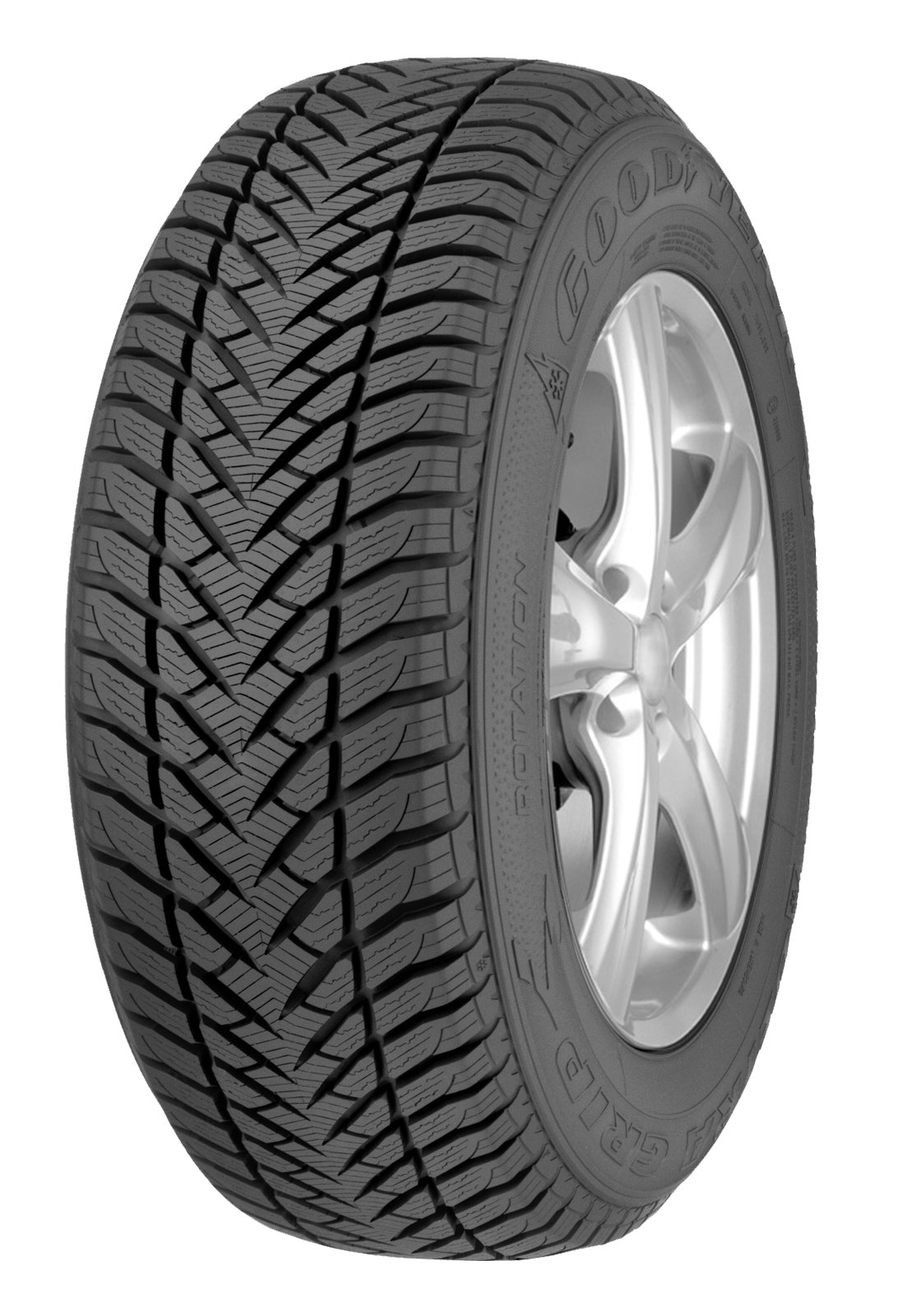 GOODYEAR Ultra Grip + SUV 255/55R19XL 111H (Quantity of 1) by Goodyear (Image #1)