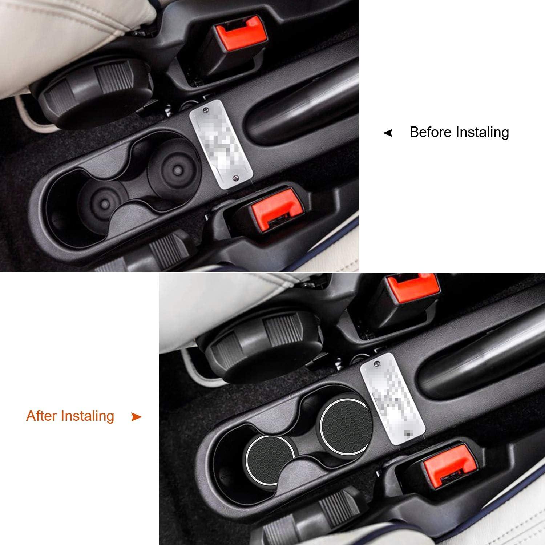 MLING 2,75 Zoll Auto Getr/änkehalter Anti-Staub rutschfeste Gummimatte Kompatibel f/ür FT 500 500X 500L 2 St/ücke Wei/ß